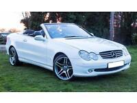 Mercedes clk200 kompressor convertible
