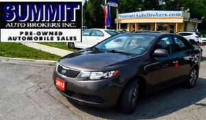 2013 Kia Forte EX | CAR-PROOF CLEAN | BLUETOOTH | HEATED SEATS