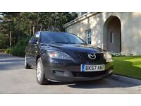 2007 Mazda 3 2.0D TS2 Diesel 5 door Hatchback. FSH and MOT until September 2017