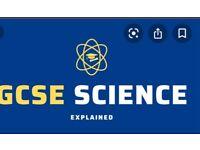 GCSE Science lessons