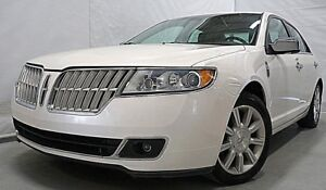 2010 LINCOLN MKZ AWD CUIR TOIT GPS SIEGES VENTILES