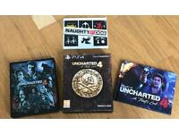 Uncharted 4: A Thief's End collectors edition
