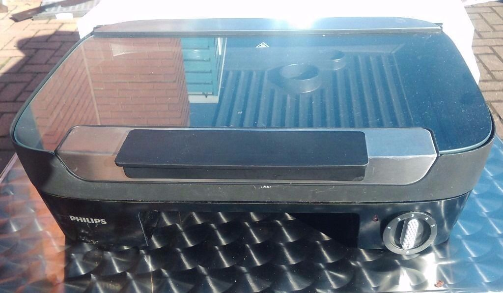'Philips' table grill type HD6360 in good condition, good working order
