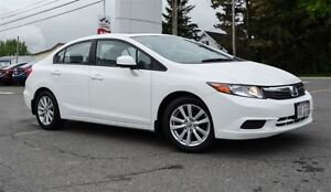 2012 Honda Civic EX Sunroof, Bluetooth, One owner !!