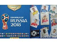 Panini World Cup 2018 stickers for swaps. Loads to choose from