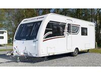 Lunar Clubman SE Saros Limited Edition touring caravan for sale