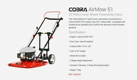 *NEW* COBRA Airmow 51 Hover Lawnmower