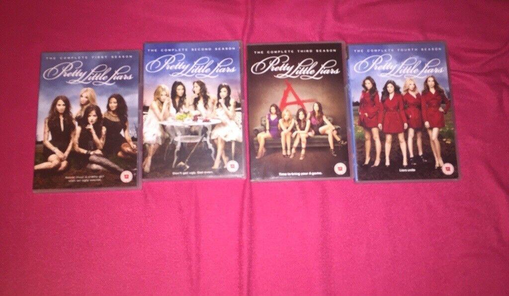 Pretty Little Liars DVDs (Season 1-4)