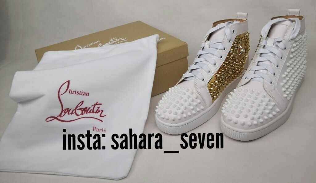 lowest price d9984 4af9a Mens Christian Louboutin Spiked Trainers Spike Boots Red Sole £120 Shoes |  in Hammersmith, London | Gumtree