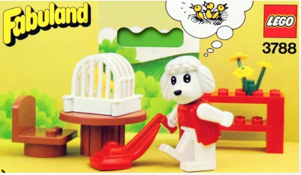 Lego - Fabuland - Cleaning Poodle  - 3788 in Vohburg an der Donau