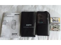 Sanyo Micro Cassette Recorder/Dictaphone