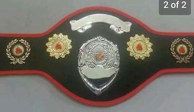 Boxing Champion Belts
