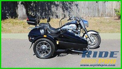 Kawasaki Vulcan 2000 Classic LT 2006 Kawasaki Vulcan 2000 Classic LT motorcycle Velorex side car trike touring