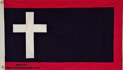 HEAVY COTTON 3 X 5 MISSOURI BATTLE FLAG - CSA - CIVIL WAR - SEWN DETAILS - DIXIE