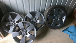 "4 x 19"" VE Holden Thunder Rims Blackwater Central Highlands Preview"