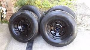 suzuki vitara rims and tyres 235/75/15 Ballajura Swan Area Preview