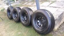 4 tyres 265-70-16 Stirling Area Preview