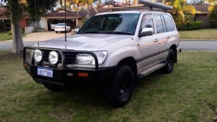 2002 Toyota LandCruiser Wagon Ballajura Swan Area Preview