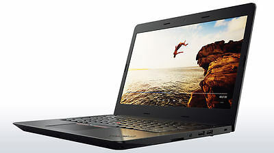 "Lenovo ThinkPad E470 Intel i5-7200U 8GB 256GB SSD 14"" FHD Win10 Warranty"