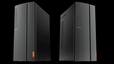 Lenovo IdeaCentre 510A Desktop PC Ryzen 5 Quad-Core 12GB 2TB DVD+RW 2GB RX 550