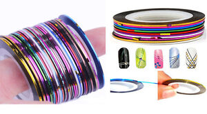 Lots-30Pcs-Mixed-Colors-Rolls-Striping-Tape-Line-Nail-Art-Decoration-Sticker