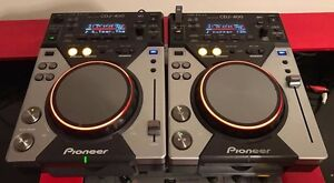 Pair Of Pioneer CDJ 400's. Pioneer DJM 600 Mixer also for sale, other items