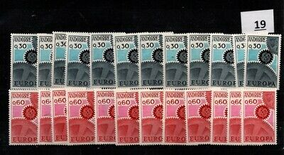 / 12X FRENCH ANDORRA 1967 - MNH - EUROPA CEPT - WHOLESALE