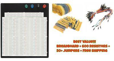 Breadboard Protoboard Tp Tie-point 3220 Hole Prototype Board Value Pack