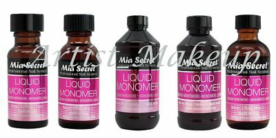 Mia Secret Professional Acrylic Nail System - Liquid Monomer - Made in USA
