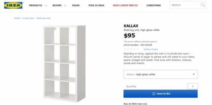 IKEA Kallax Unit