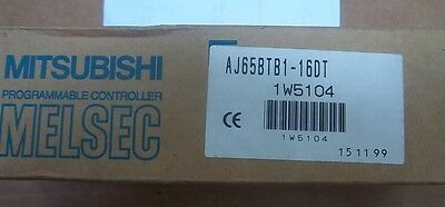 Mitsubishi Melsec Aj65btb1-16dt Cc-link Io Unit  Ship Today. 12 Mo. Warranty
