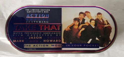 Take That (Robbie Williams) RARE ltd ed pocket sized action movie