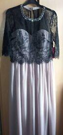 Beautiful Little Mistress maxi dress size 14