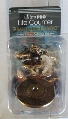 Pro Counter - Ultra Pro Limited Edition Realms of Havoc Metal Life Counter DAYOOTE NEW!