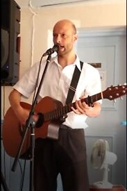 A singer or guitarist for any party or venue!