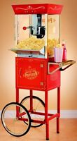 Fresh kettle corn snack for your guests!