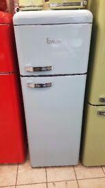 BRAND NEW Blue Swan SR11010ON Retro Tall Fridge Freezer with 6 MONTHS WARRANTY