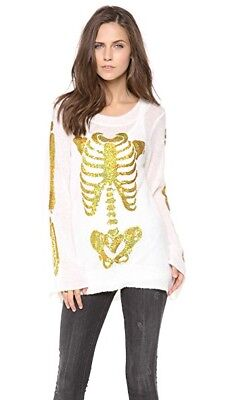 Wildfox White Label I Am Gold Sweater  264