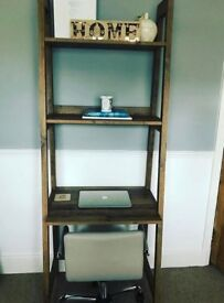 Modern ladder shelf for sale from NEXT - as new