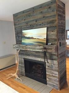 Fireplace Mantels, Barn Beams, Shelves