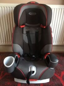 Graco Nautilus Car Seat. Used by one child from a smoke free home.