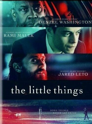 The Little Things(DVD,2021) NEW*Denzel Washington* Rami Malek* FREE SHIPPING!!!