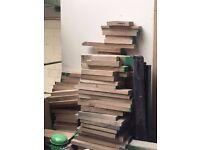 Wood Off Cuts, Oak - Turning DIY Craft Projects