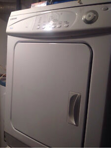 Samsung Dryer and Washer
