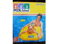 Baby deluxe pool school float