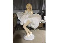 LIFE SIZE GIANT Flying skirt MARILYN MONROE Resin Figure statue figurine model