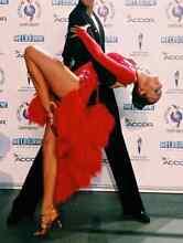 Red Latin Ballroom Competition Dress w Swarovski Cronulla Sutherland Area Preview