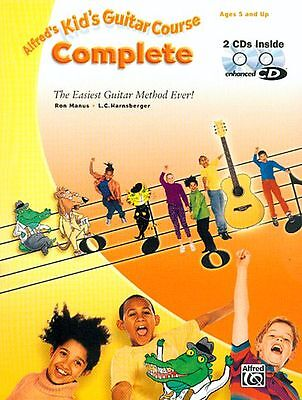 Alfred's Kid's Guitar Course Complete (Book & CD)