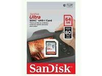 SanDisk sdxc 64gb