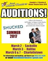 Auditions for Musicians/Actors/Singers